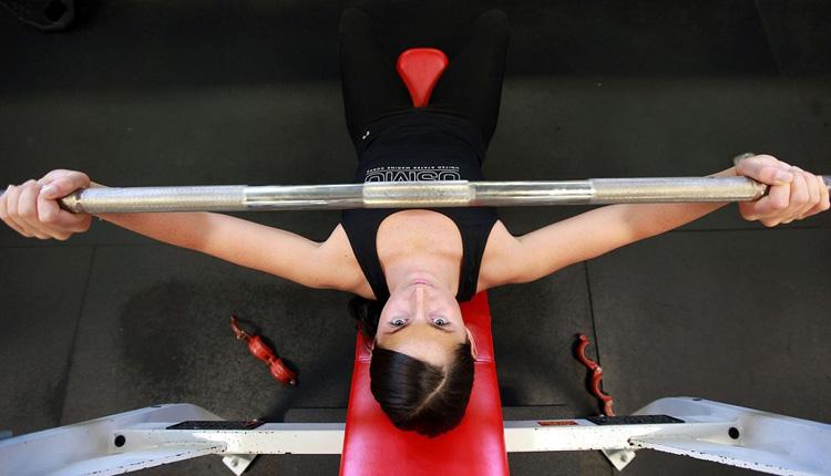 usare panca fitness